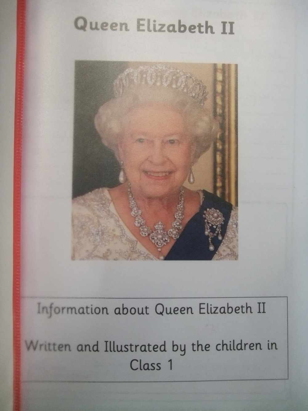 Class 1 celebrate the queens 90th birthday high coniscliffe ce we made her birthday card inspired by the birthday crown by david call and kate slater bookmarktalkfo Choice Image