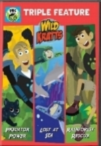 Wild Kratts Triple Feature DVD