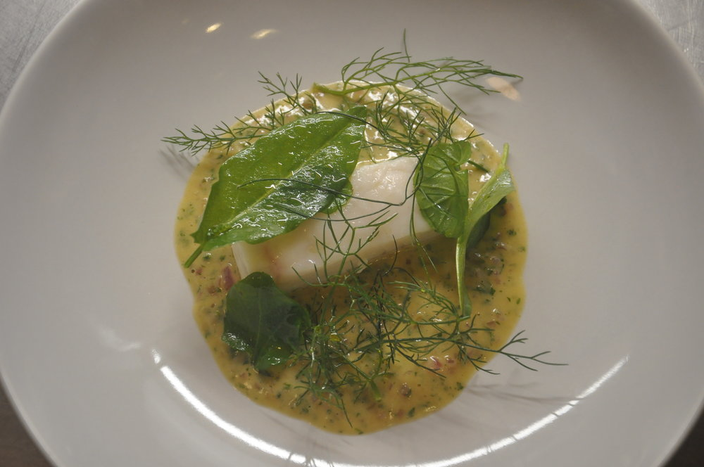 Esben Holmboe Bang*** cooked halibut at EFS