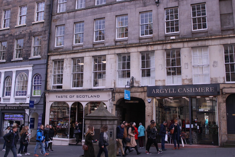 The Royal Mile, Edinburgh, abounds with 'Tartan Tat'!