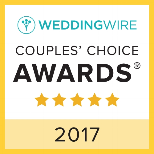 Copy of Wedding Wire's Couples' Choice Award 2017