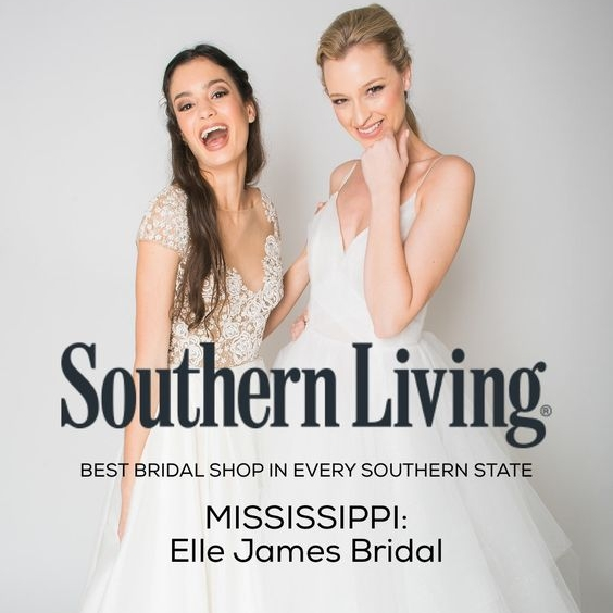 Southern Living - Named Best Bridal Boutique in MS