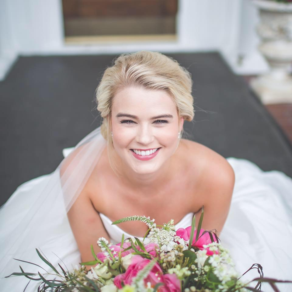MRS. ABBEY ADCOCK REEVES   Photographer | John Clemmer Photography Dress | Blush by Hayley Paige + custom bow Planner | Signature Occasions