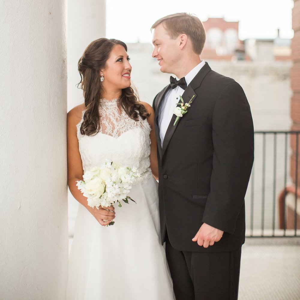 MRS. ELIZABETH WOODY VAUGHAN   Photographer | Taylor Square Photography Dress | Build a Bride by Heidi Elnora Planner | Ellen Thomas Event Designs