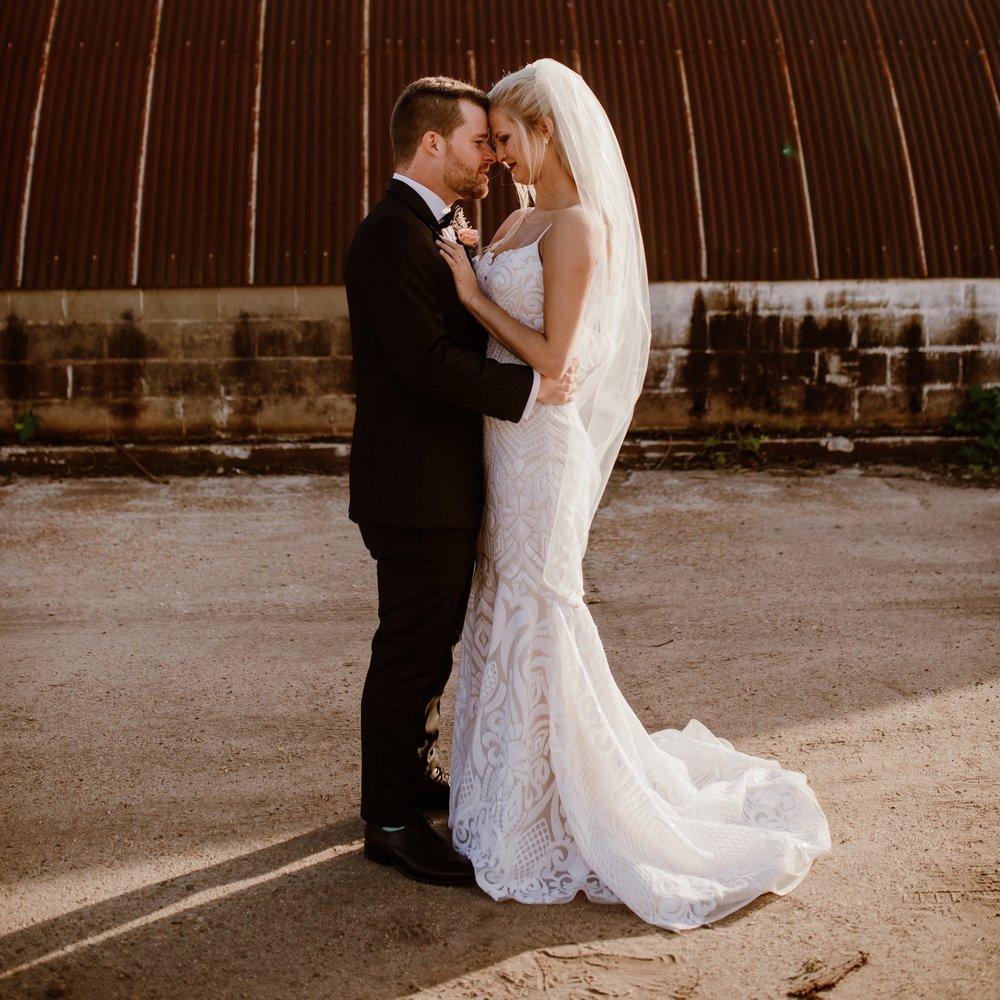 MRS. MORGAN AVARA SANDERSON  Photographer | April + Paul Dress | Blush by Hayley Paige