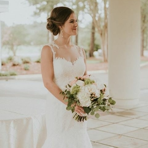 MRS. LEAH WINSTEAD    Photographer | April and Paul Dress | Paloma Blanca