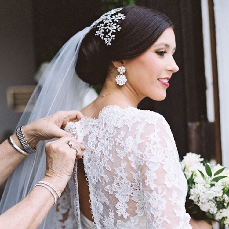 MRS. CAROLINE CONERLY JOHNSON   Photographer | Lauren Liddell Dress | Paloma Blanca