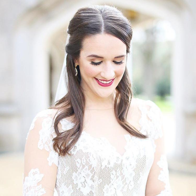 MRS. HAILEY HENDERSON MIDDLETON  Photographer | Eliza Kennard Dress | Blush by Hayley Paige