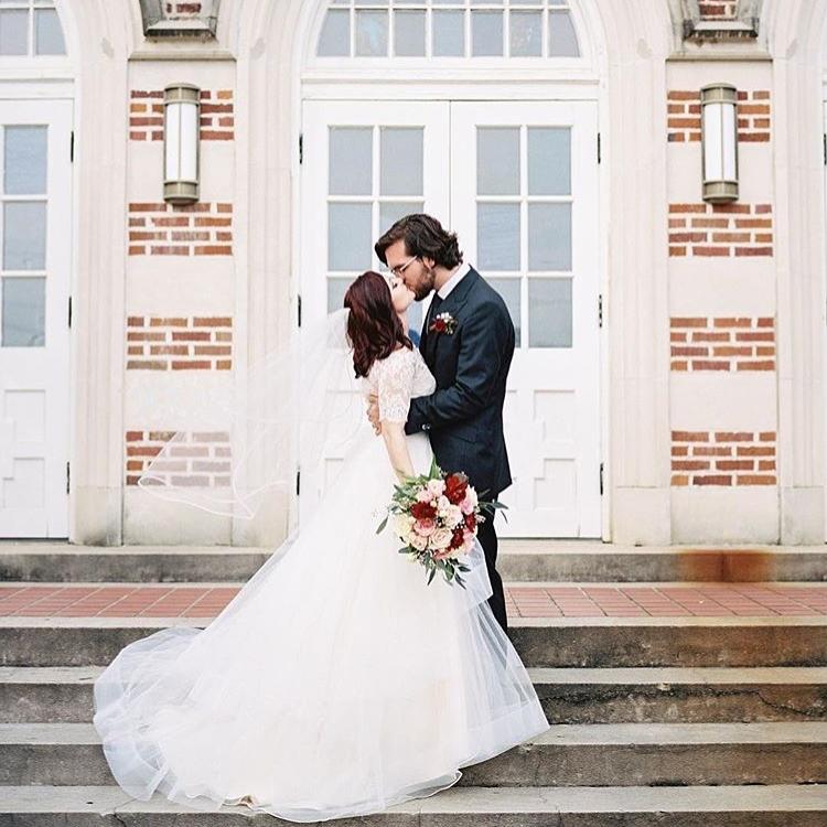 MRS. KATIE LOLLY RAMSEY  Photographer | Hannah Groat Dress | Blush by Hayley Paige + Heidi Elnora