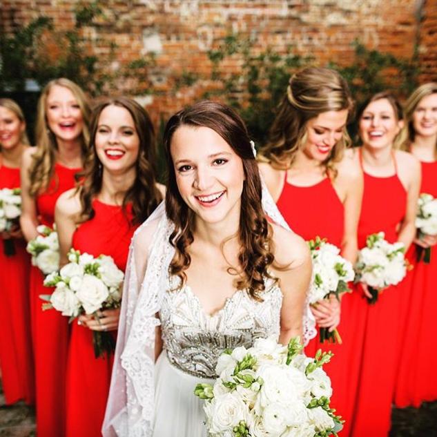 MRS. VALERIE MOSS ANDREWS  Photographer | Micah Green Dress | Hayley Paige