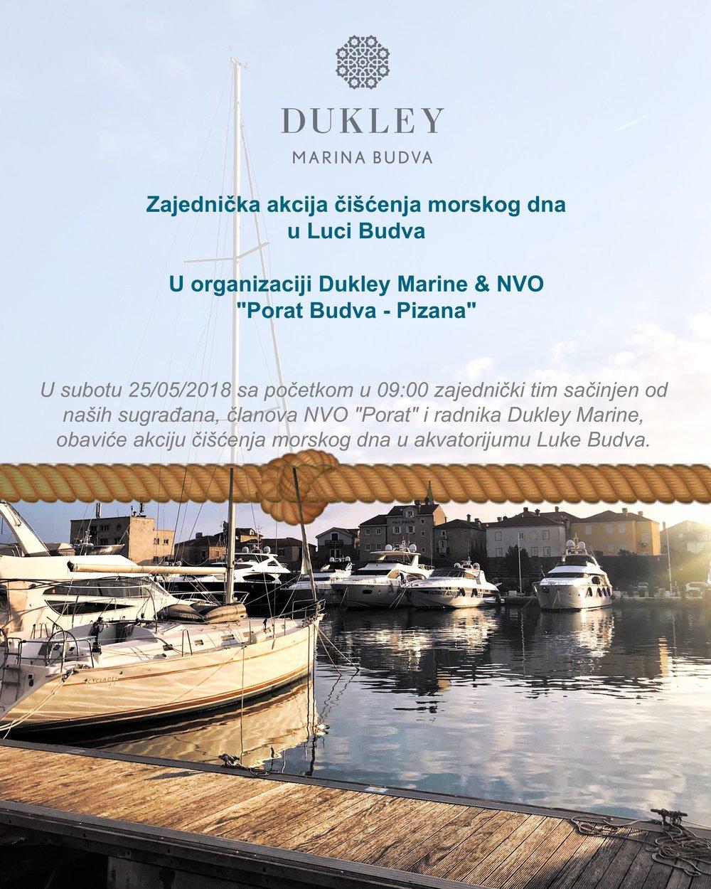 Akcija Ienja Dukley Marina Budva Is Located In The Heart Of The