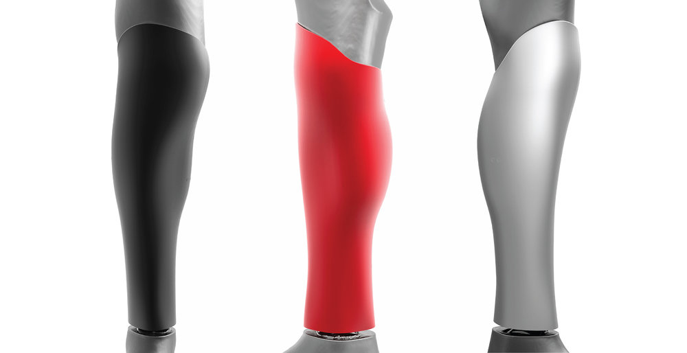 Customized shape for below-the-knee prosthesis