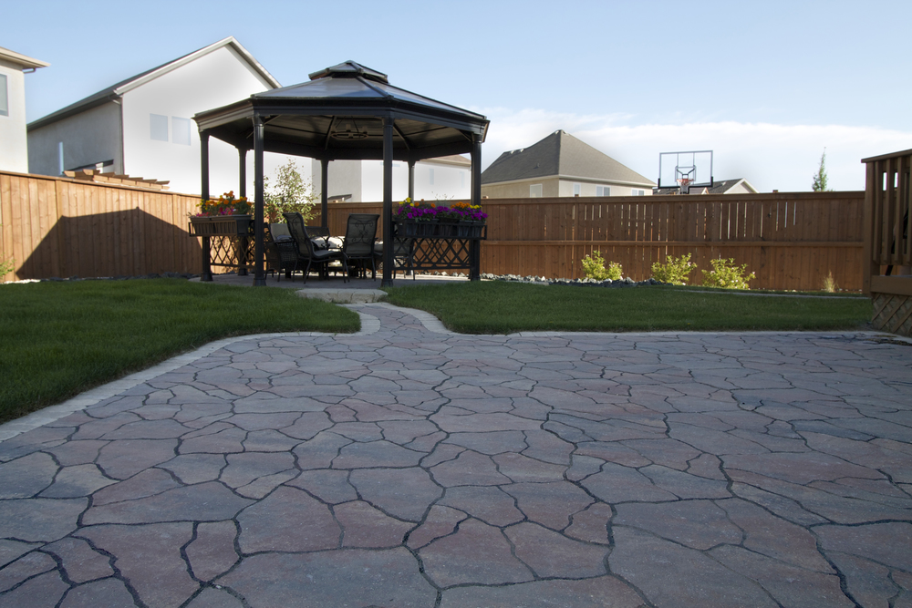 Backyard Hardscape Design