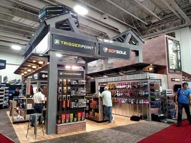 IMPLUS Custom Exhibit Booth at the Outdoor Retailer Show, Salt Lake City