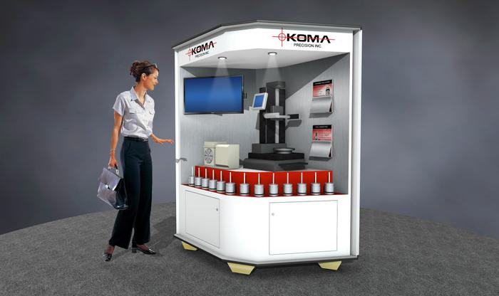 Koma Precision's Crate Exhibit - Designed by Zig Zibit