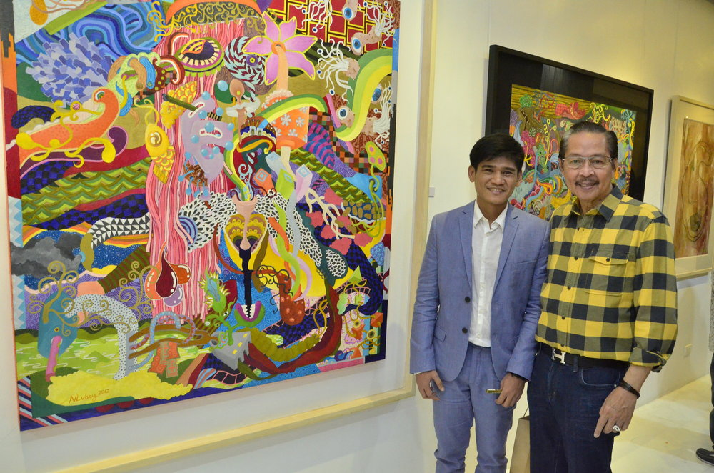 With Guest of Honor - Master Sculptor Ramon Orlina