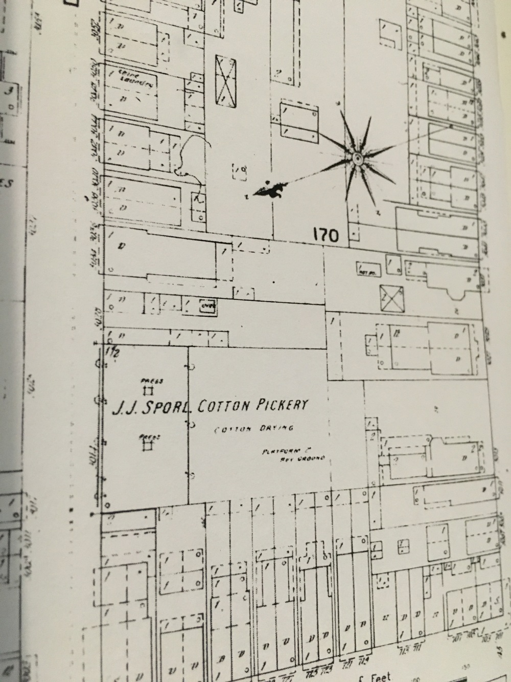 An 1890's Insurance Map of 3014 Dauphine St.