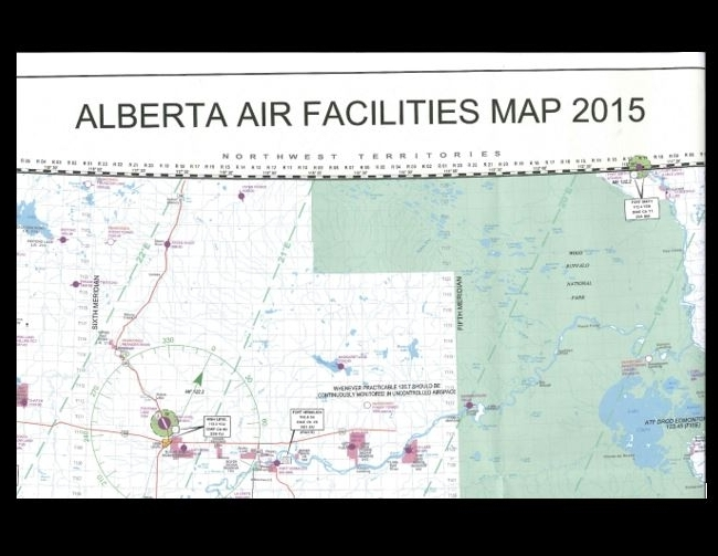 2015 Laminated Air Facilities Map