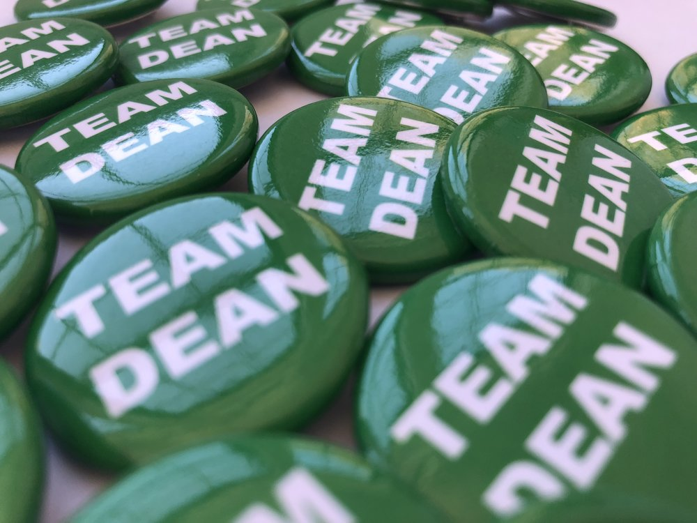Team Dean Pin Kindred Handicrafts