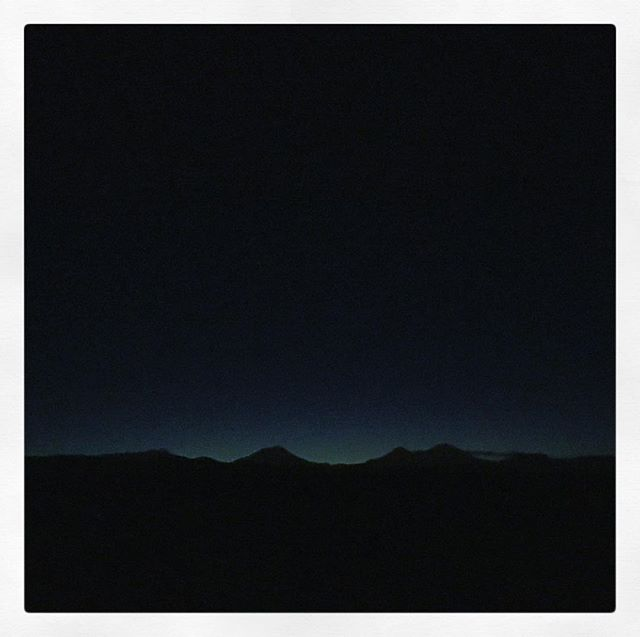 While some looked at the super moon, I turned to watched the mountains glow. #centraloregon
