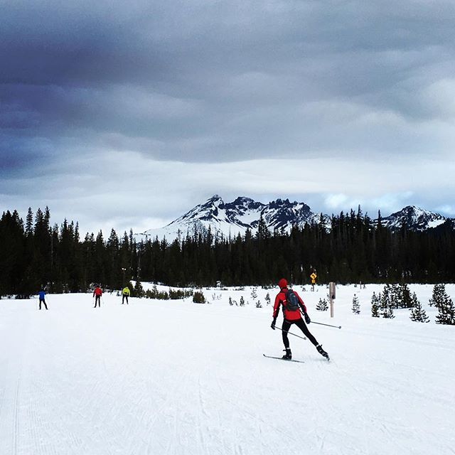 Today I officially became a 'Bendite'- I had my first skate skiing lesson. Learning something new and challenging to my body/brain was humbling- a reminder of the importance in taking the time to learn new things: to be both inspired by what we can attain and awed by what we don't know we don't know. #inbend #newadventure #learnsomethingneweveryday