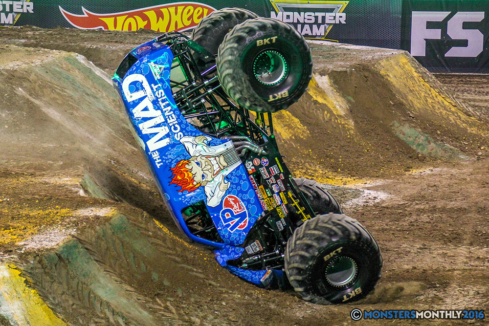 Monster Jam Las Vegas >> Monster Jam World Finals VII Freestyle Gallery Set Two — Monsters Monthly | Find monster truck ...