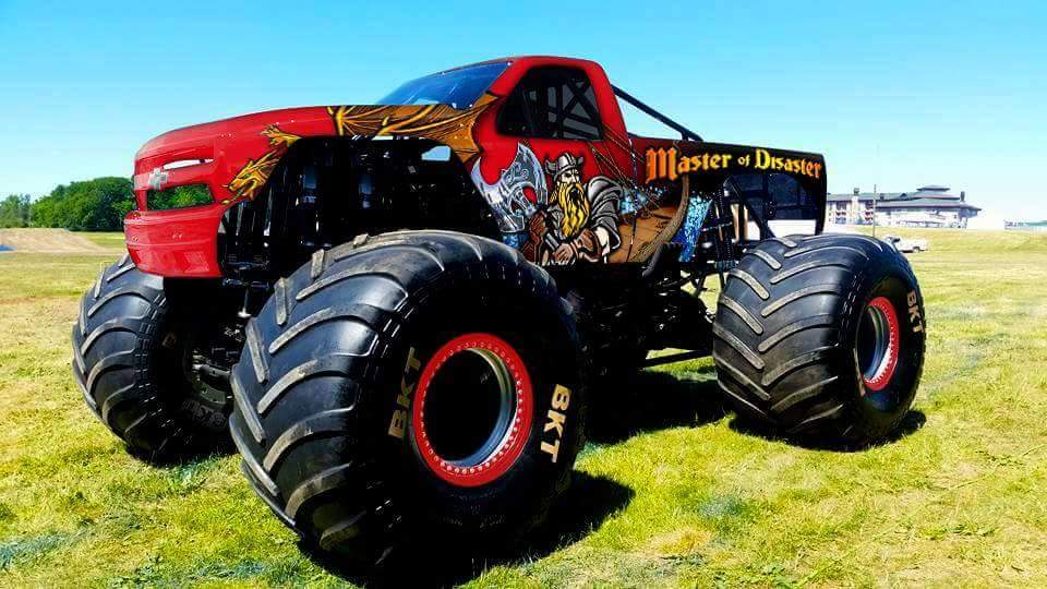 The new Master of Disaster monster truck!