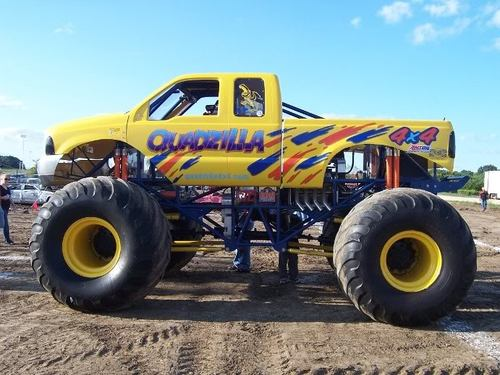 Quadzilla Monster Truck For Sale Monsters Monthly