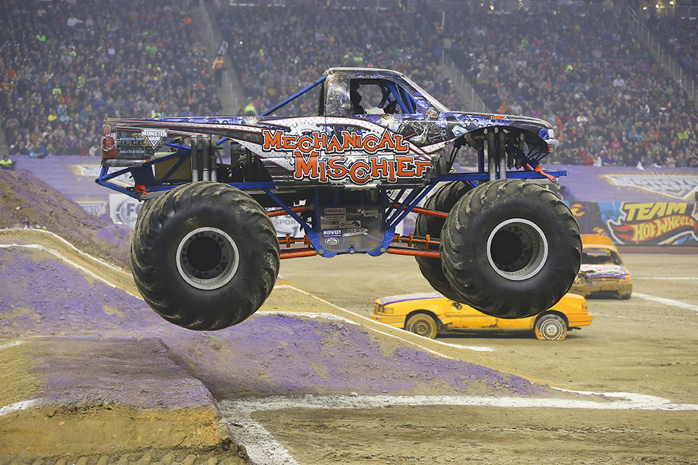 Photo courtesy of Monster Jam at www.monsterjam.com.
