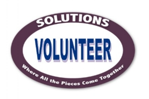 - Click the button and complete your Volunteer Application!