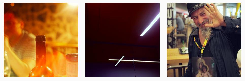 Shots from Damien Levingston's Instagram