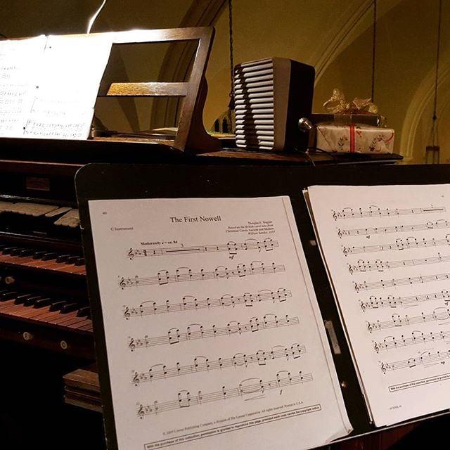 Choir music for Midnight Mass