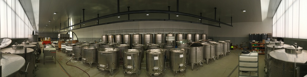 Panoramic of the winery