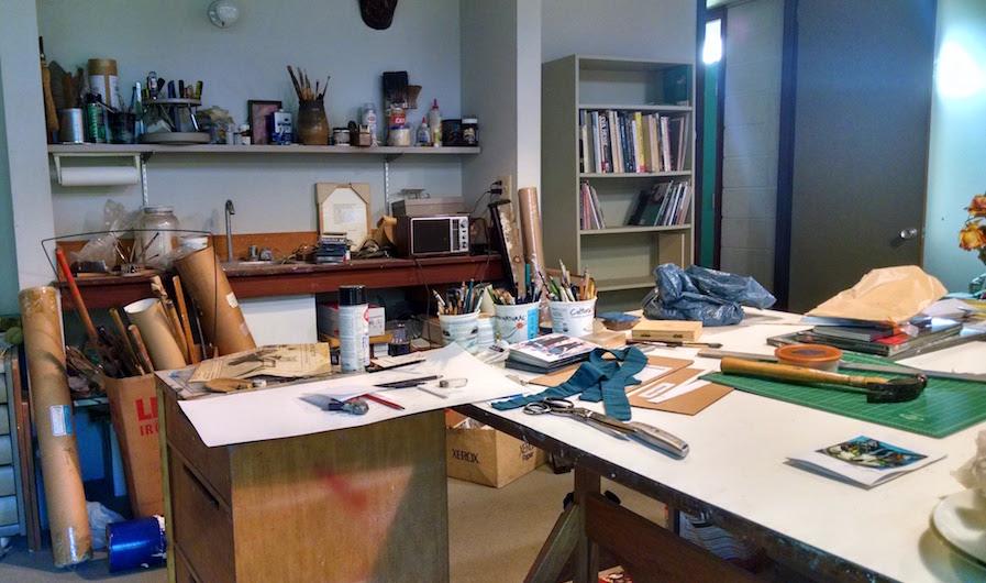 Lyon's studio