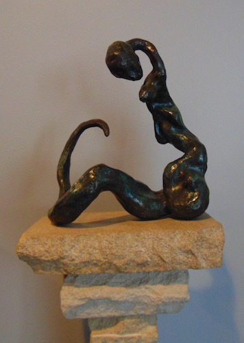 Karen Wilcox,  Serpent Deity 1 v.2 , 2005, limited edition bronze