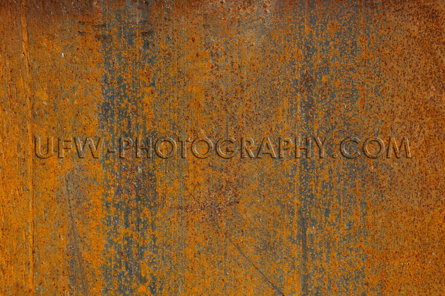 Abstract rusty grunge textured metal background full frame Stock