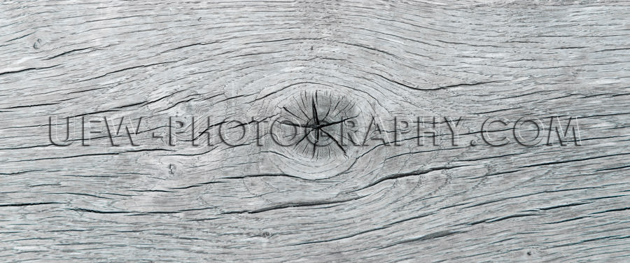 Rough wood gray plank board grunge cracked knothole background S