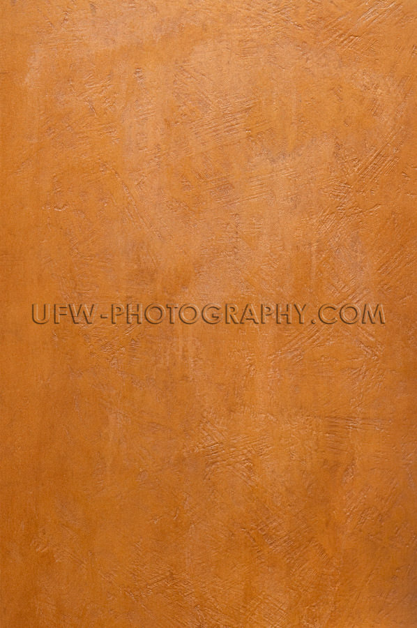 Red brown bronze metal plate textured surface full frame Stock I