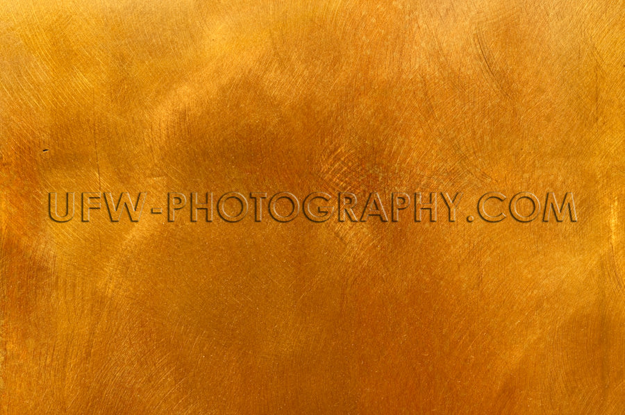 Abstrakt Golden Bronze Blech Metallplatte Textur Hintergrund Sto