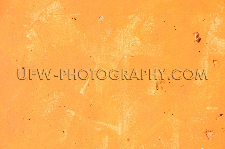 Betonmauer Ebene Textur Orange Textur Hintergrund Stock Foto