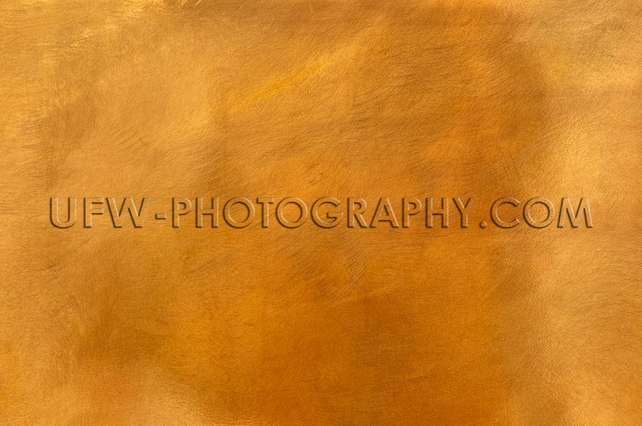 Goldene Bronze Metallplatte Blech Hintergrund Struktur Textur Ob