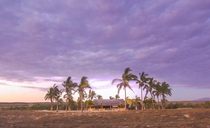 sand and purple bedroom bohemian beach amerimex realty