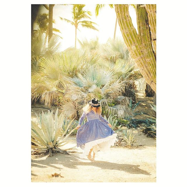 . . . . . . . . . #todossantos #baja #sunlight with a #breeze #bluedress #bluepalms #feeling#bohochic #nomad #bohemian #dust #fujifilm @dreaming.nicki