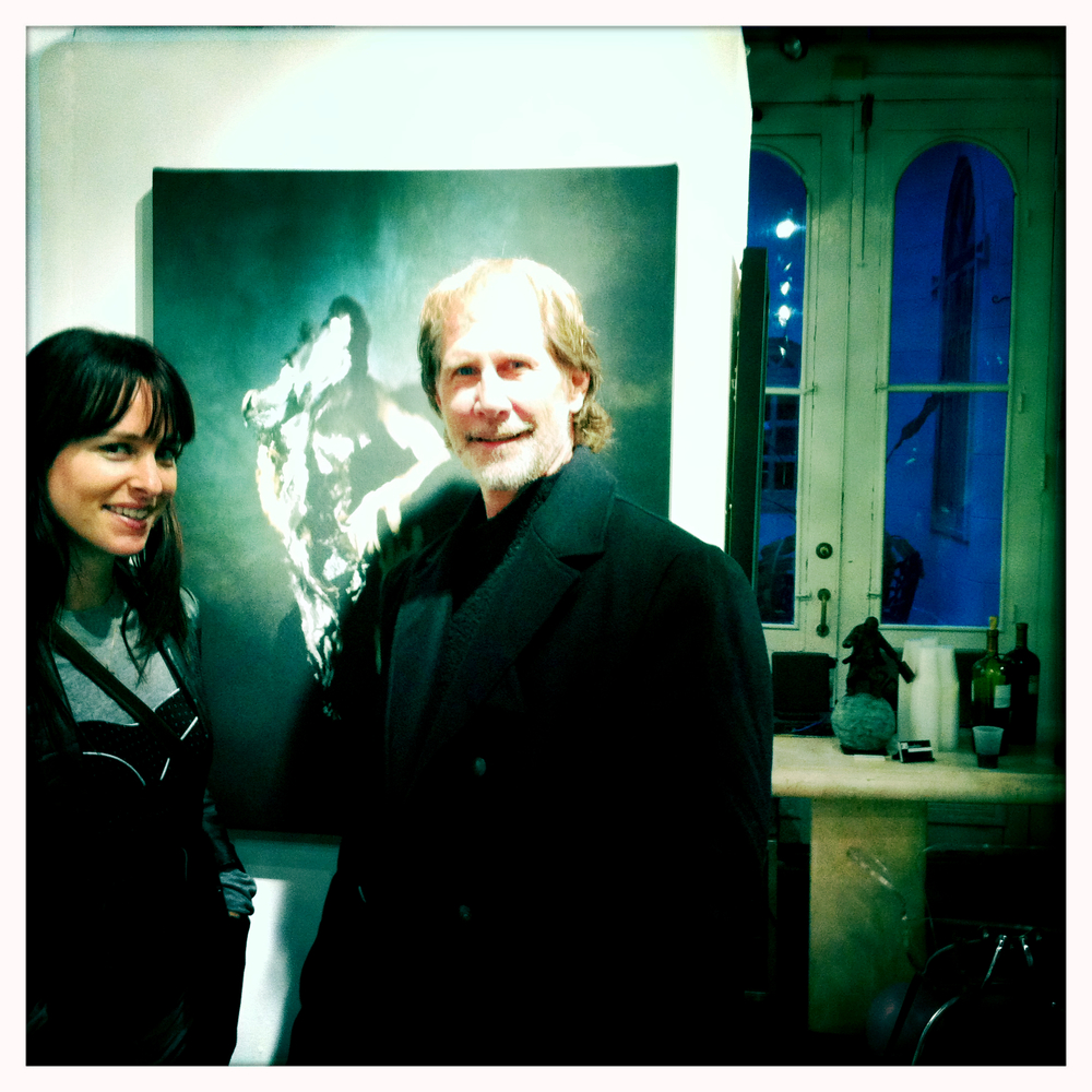 Christy Lee Rogers Parker Stevenson New Orleans Art exhibit