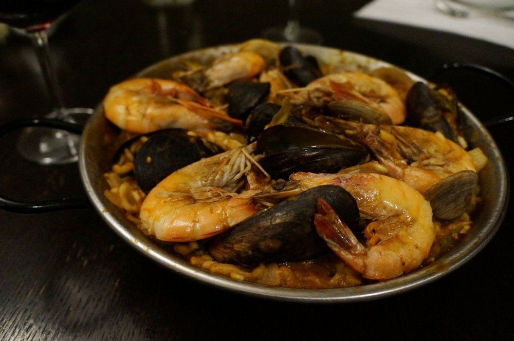 YOU KNOW WHAT THEY SAY - IF YOU DONT USE IT, YOU LOSE IT. WE MADE PAELLA AT HOME AND IT TURNED OUT GREAT.