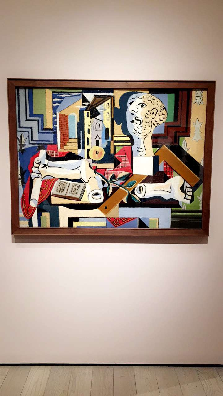 "PICASSO'S ""STUDIO WITH PLASTER HEAD"""