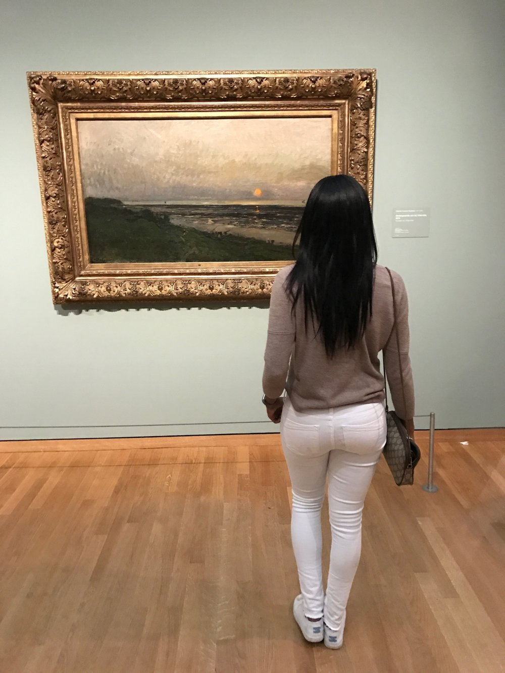 THE VAN GOGH MUSEUM WAS INCREDIBLE. THIS WAS ONE OF MY FAVORITE PIECES. WHEN YOU GET UP CLOSE, YOU CAN SEE THINGS THAT ARE NOT NOTICEABLE FROM AFAR!