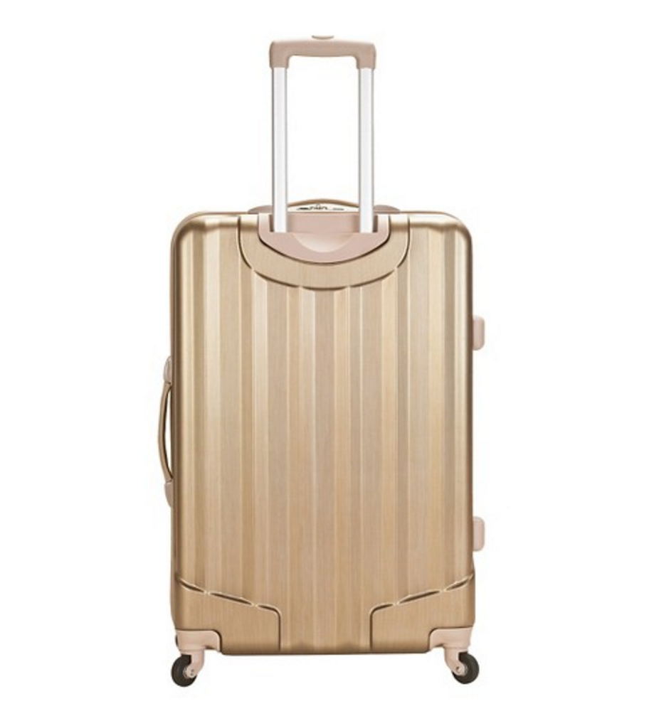 ROCKLAND METALLIC LUGGAGE SET