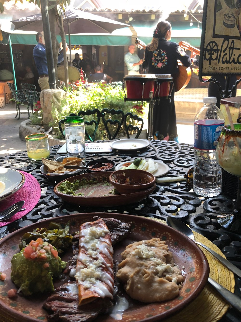 Lunch at El Patio was exactly what we needed.