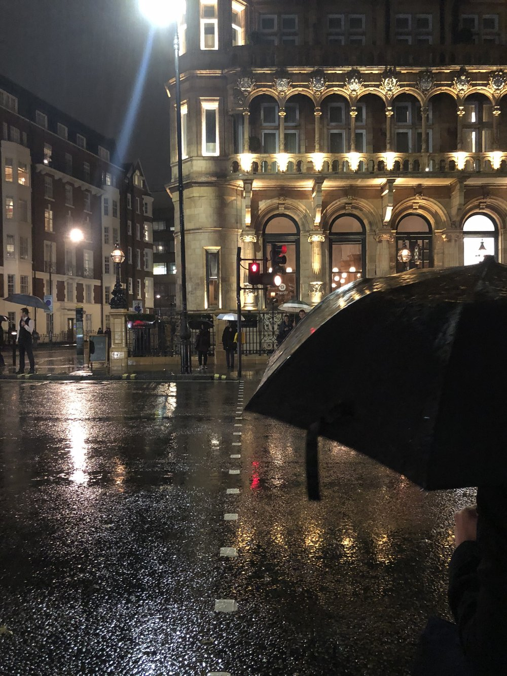 Rainy evenings in London aren't as common as you'd think!